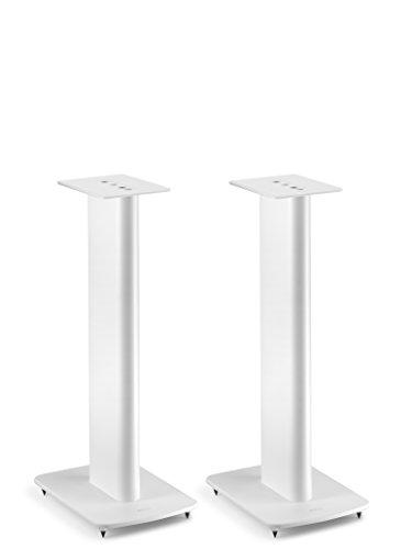 KEF Performance Speaker Stand für Regallautsprecher mit Kabelführung (Paar), Weiß