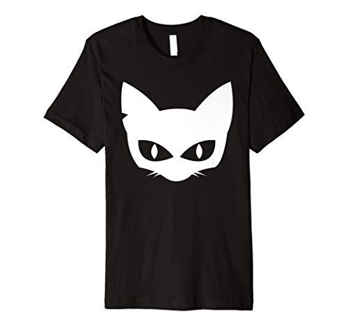 Halloween Katze Maske Shirt Halloween 31. Oktober -