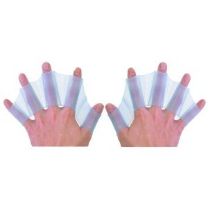 JERN Soft Silicone Swimming Fins Flippers Webbed Glove (1 pair)