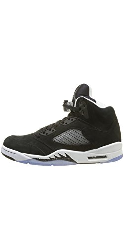 - Basket Air 5 Retro Noir Blanc 136027 035