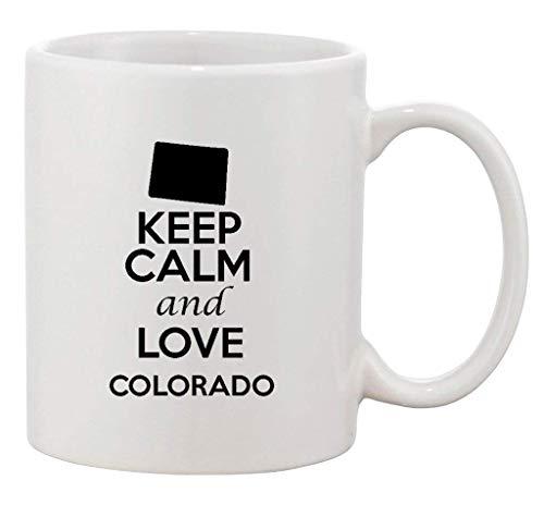 olorado Country USA Patriotic Ceramic White Coffee 11 Oz Mug ()
