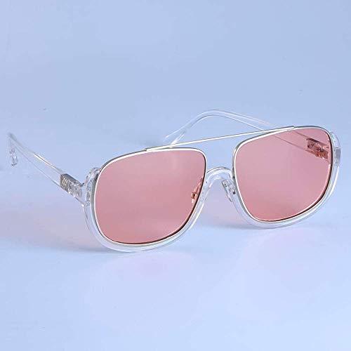 GFF Gestreifte Linse Retro Sonnenbrille Männer Frauen Mode UV400 Vintage Brille 49020