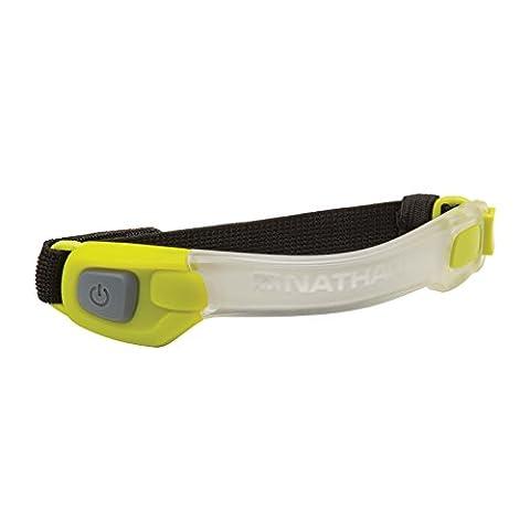 Nathan LightBender LED Armband, Green, One