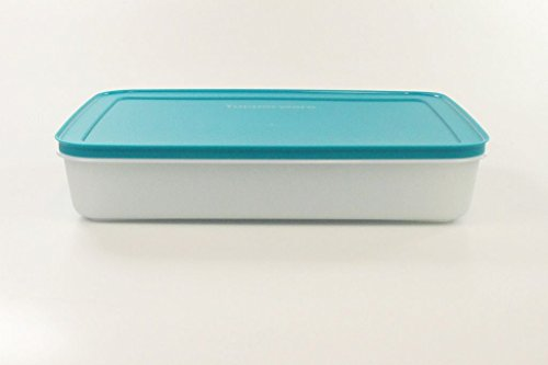 Test Tupperware Gefrier Behalter 2 25 L Turkis Weiss Flach Eis