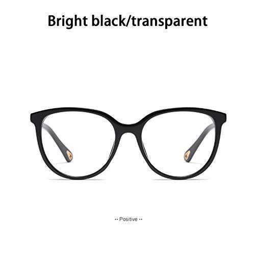 HEIFEN Retro-Mode-Flache Spiegel-weibliche Qualitätsrahmen-Gläser können mit Myopie-Linsen konfiguriert Werden