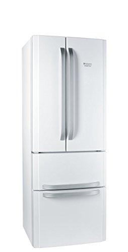 Hotpoint E4D AAA W C Side-by-Side / A++ / 195,5 cm Höhe / 295 kWh/Jahr / 292 L Kühlteil / 110 L Gefrierteil / No Frost / nur 0,808 kWh/24 Stunden / weiß