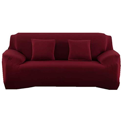 ZTMN Sofabezüge Schonbezüge für Sofas Schonbezüge für Sofas Schonbezüge für Sofas Möbel Sessel Loveseat Schonbezüge Anti-Rutsch-Weinrot 1 Sitzer/Stuhl -
