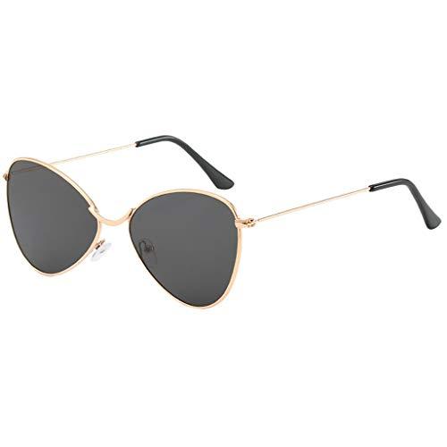 EUCoo Trend Sonnenbrillen Ocean Foil Sonnenbrillen Liquid Metallic Fashion Brillen