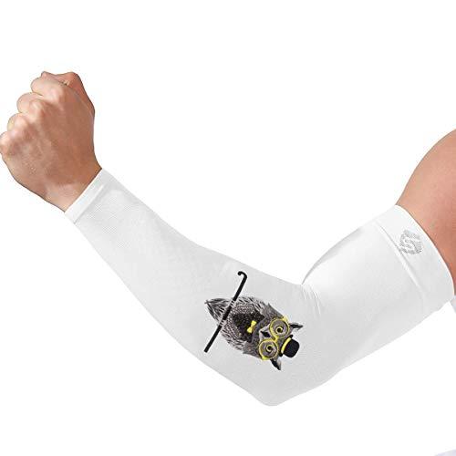 SHINYMOD Armlinge, UV-Schutz Kühler Arm Armwarmer für Frauen Männer Original Siebdruck-Muster Sport Kompression Armstulpen für Baseball Basketball Fußball Radsport Gartenarbeit -