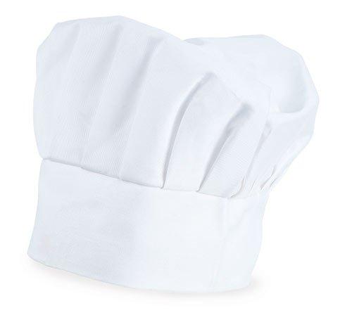 Italienische Kellner Kostüm - My Custom Style Kochmütze verstellbar, Weiß, Baumwolle, Nicht gedruckt