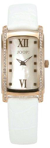 Joop! - JP100232006U - Montre Femme - Quartz Analogique - Bracelet Cuir Blanc