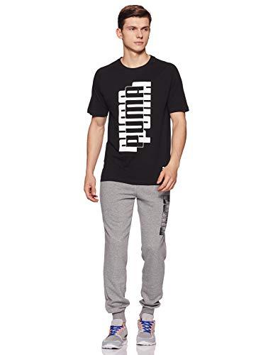 Puma Men's Plain Regular Fit Active Base Layer Shirt