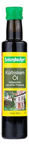 Seitenbacher Bio Kürbiskern Öl rein nativ, kaltgepresst/1 Pressung, 1er Pack (1 x 250 g)