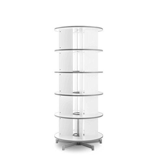 MOB Ordner Drehsäule - Durchmesser: 80cm - 5 Größen wählbar - 192cm - 5 Jahre Garantie