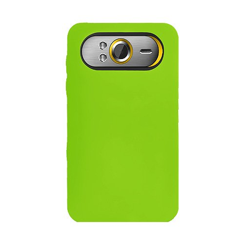 Amzer Coque silicone pour HTC HD7 Vert (Import Royaume Uni)