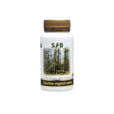 Book's Cover of Sfb laboratoires  Charbon végétal activé nature  120 gélules  Ventre plat et confort dune bonne