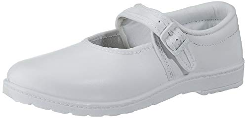 Lakhani Unisex Kid's White Sneakers-3 UK/India (36 EU) (Good Time (TW) 248)