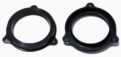 nissan-infiniti-165-cm-schwarz-kunststoff-lautsprecher-adapter-halterung-ring