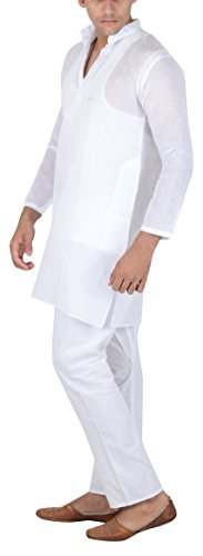 Sai-Chikan-Mens-Jute-Cotton-Straight-Kurta
