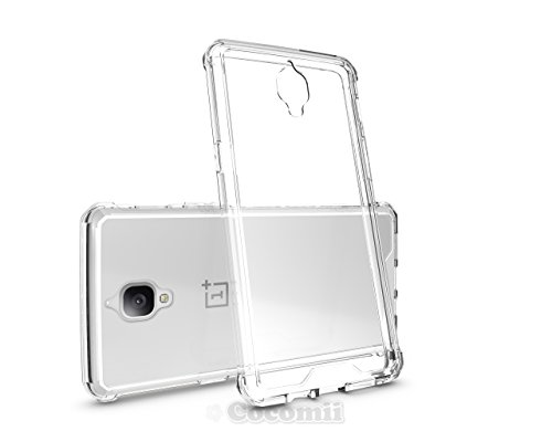 Crystal Hard Shell Case (OnePlus 3 / 3T Hülle, Cocomii Modern Armor NEW [Crystal Clarity] Premium HD Clear Anti-Scratch Shockproof Hard Bumper Shell [Slim Fit] Full Body Ultra Thin Lightweight Transparent Cover Case Schutzhülle (Crystal Clear))