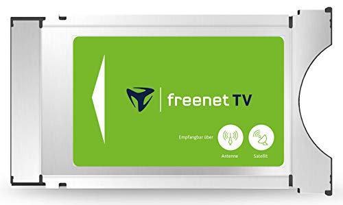 freenet TV 89001 CI+ TV Modul für Antenne DVB-T2 HD, mit 3 Monaten gratis