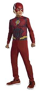 Marvel - Disfraz de Flash superhéroe para niños, infantil 3-4 años (Rubie