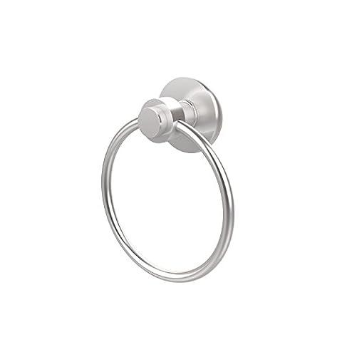 Allied Brass 916-SCH 6-Inch Towel Ring, Satin Chrome by Allied Brass