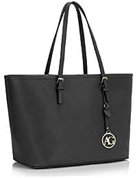 1d89a46cffbd1 LeahWard® Damen Mode Desinger Große Größe Qualität Einkaufstasche Damen  Modisch Handtasche CW00416