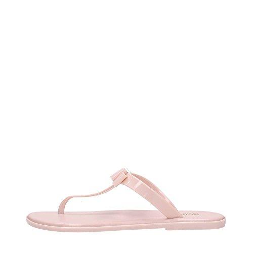 Michael Kors Jelly Thong Damen Sandalen Pink