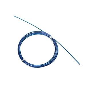 Dabixx Stahldrahtseil, 3m Crossfit austauschbare Stahldraht-Kabel-Geschwindigkeits-Sprungs-Seile, die Ersatz-Seil überspringen