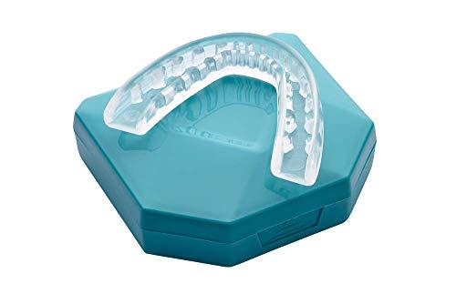 NEU! Professional Aufbissschiene (2 Stk) inkl. 1 Aufbewahrungsbox, BPA frei, Zahnschutz beim nächtlichen Zähneknirschen, Knirscherschiene, Zahnschiene, Mouthguard - 100% ige Zufriedenheitsgarantie preisvergleich