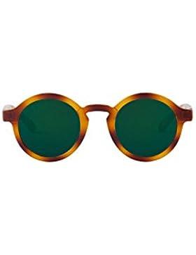 MR.BOHO, Tortoise dalston with dark green lenses - Gafas De Sol unisex multicolor (carey), talla única