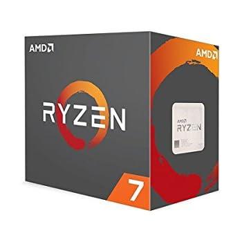 AMD Ryzen 7 1700X 95 W 8 Core/16 Threads 3.8GHz 4MB CPU - Black