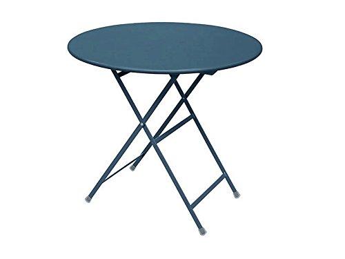 Emu Arc en Ciel Table Pliante Ronde Ø 80 cm – Vert foncé