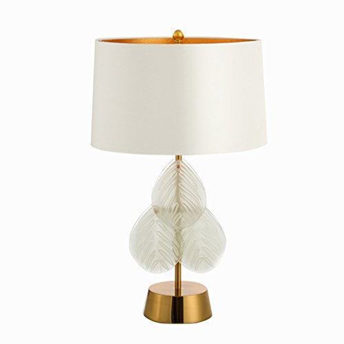 Kristall-Lampen-Knopf-Schalter, moderne Kristalltischlampe, die Nacht, Schlafzimmer, Wohnzimmer, Studie, Schlaf-Nachtlicht, Hauptkristall-Lampe beleuchtet ( Color : A )