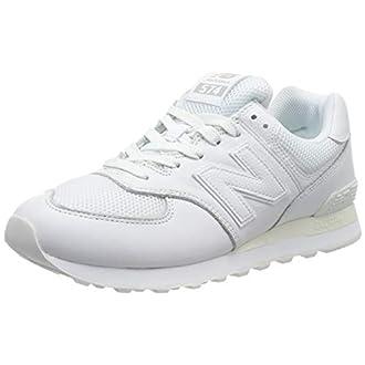 New Balance 574v2, Les Formateurs Homme, Blanc (White White), 40 EU