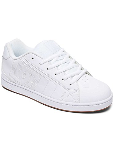 DC Shoes Net, Baskets mode homme Blanc