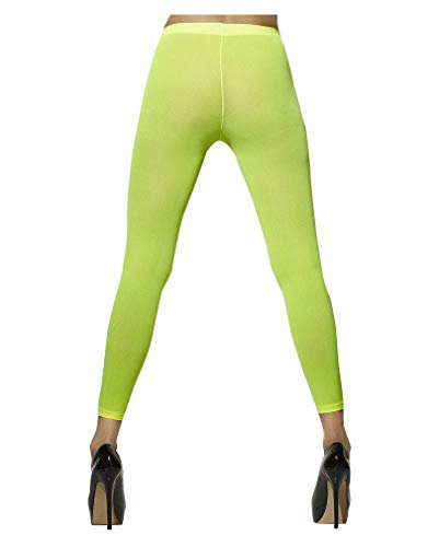 Horror-Shop 80er Jahre Leggings Neon-Grün
