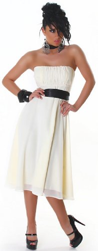 JELA London - Robe - Sans manche - Femme Blanc - White - Cream