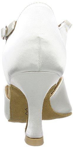 Diamant Diamant Brautschuhe Standard Tanzschuhe 051-085-092, Damen Tanzschuhe – Standard & Latein, Weiß (Weiß), 41 1/3 EU (7.5 Damen UK) - 2