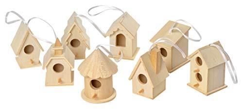 VBS 8 Deko Vogelhäuser zum Aufhängen