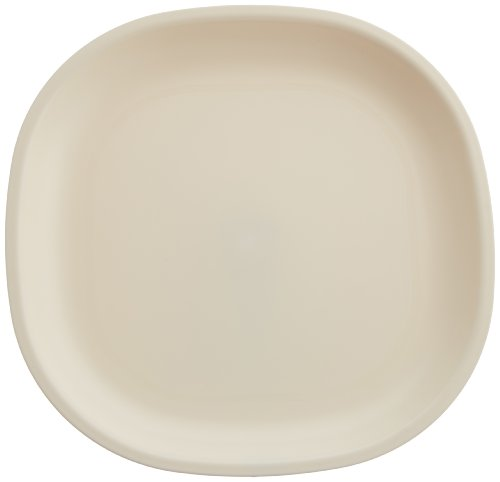 Signoraware Matt Finish Square Full Plate Set, Set of 6, Off White
