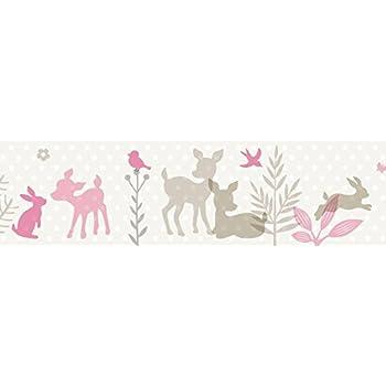 450 cm Wandkings border Sweet unicorns Length self-adhesive for childrens rooms