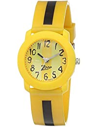 Zoop Analog Yellow Dial Children's Watch -NLC3025PP03