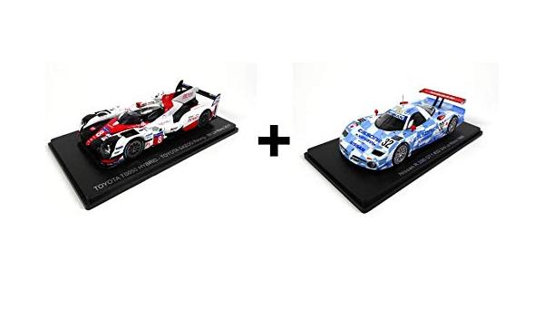 Mazda 787B 1991 01 + 02 + 03 Porsche 956 1984 Lotto di 3 Auto Le Mans Spark 1//43 per Hachette Japon: Toyota TS050 2017