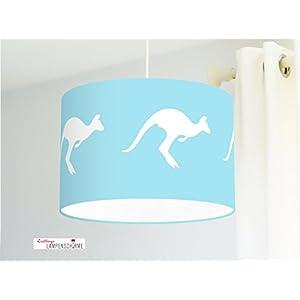 Lampenschirm - Kängurus - 35 cm - Wunschfarbe und Größe auf Anfrage