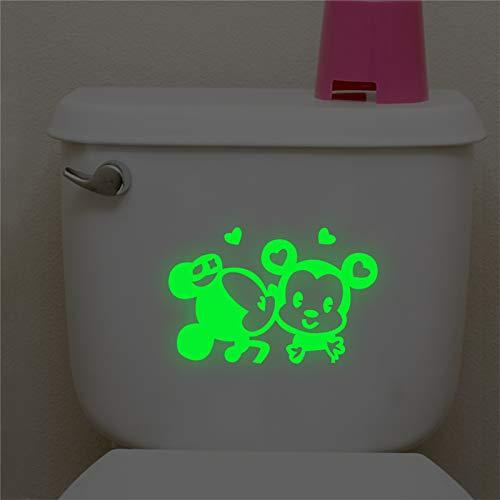 e Mouse Leuchtende Schalter Abziehbilder Kinderzimmer Dekor Glow In The Dark Wandaufkleber Fluoreszierende Vinyl Wandbild Kunst ()
