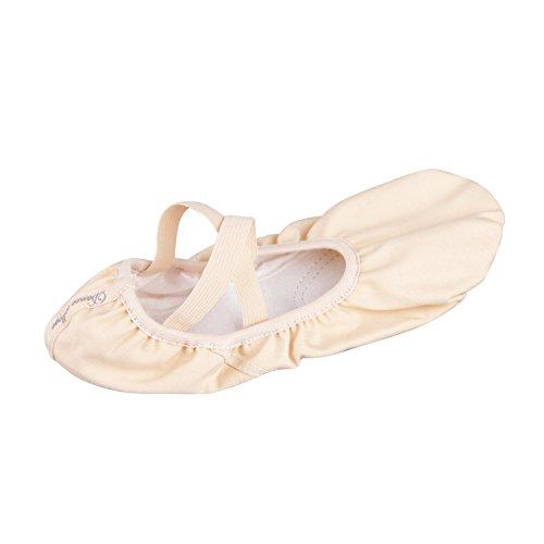 Bezioner-shop Nero e Rosa Chiaro Balletto Scarpe di Tela Split Pantofole Sole di Danza (Vi Consigliamo di Scegliere Una Taglia Più Grande la Dimensione Normale di Scarpe) Rosa