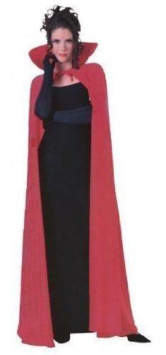 Rot Cape, Teufel Hörner und Trident Kostüm Set (Erwachsene)