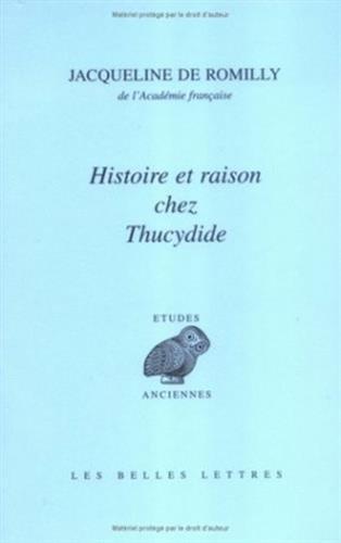 Histoire et raison chez Thucydide
